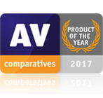 AV comparatives PRODUCT OF THE YEAR 2017